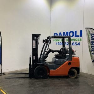 Late model Toyota forklift for sale