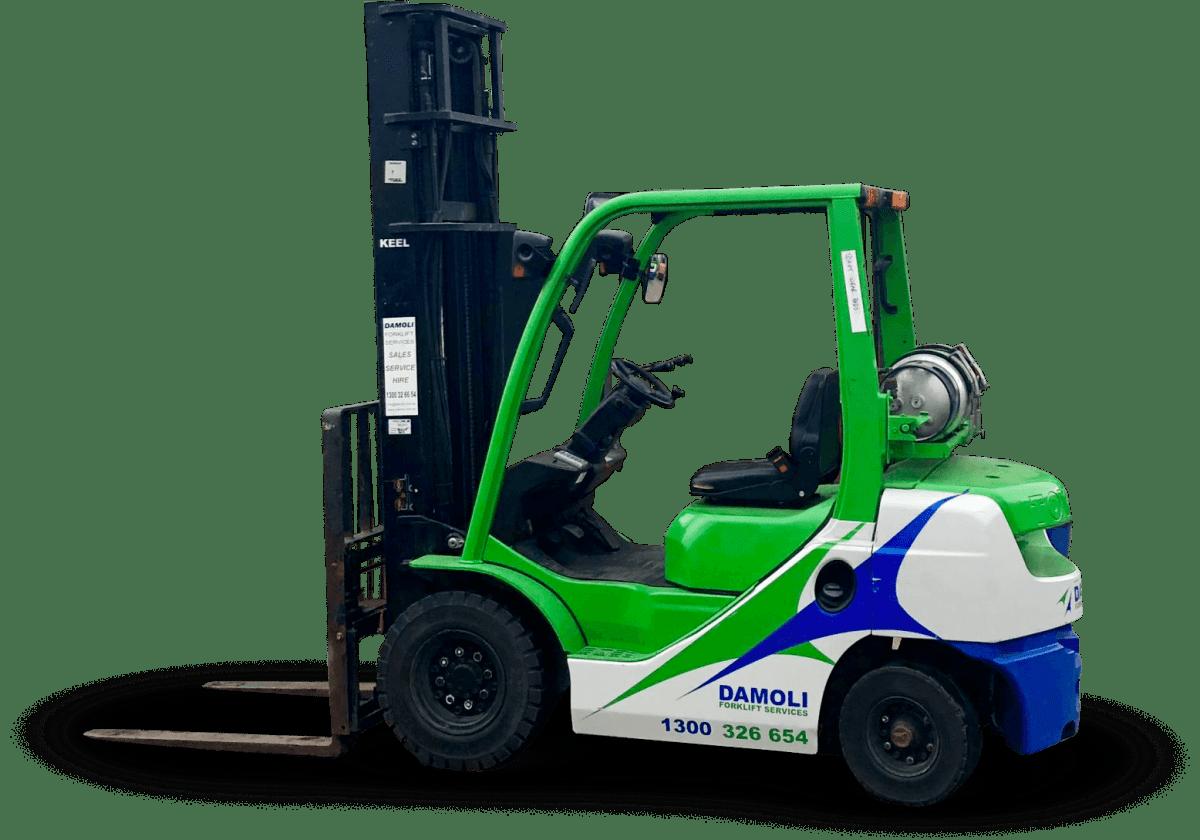 Damoli Forklifts for Sale & Hire Melbourne | Flexible Forklift